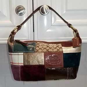 Coach Limited Edition Patchwork Mini Hobo Bag